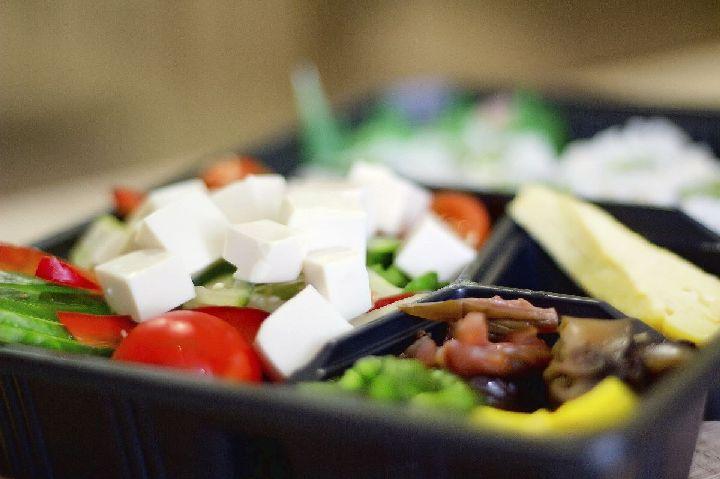 tofu saláta