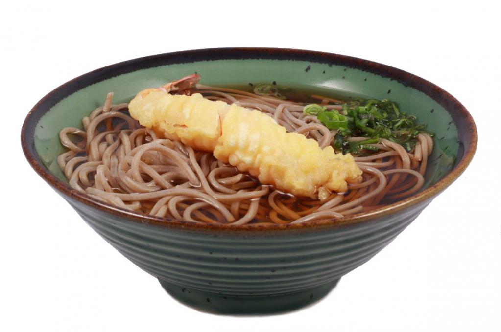 tempura soba leves