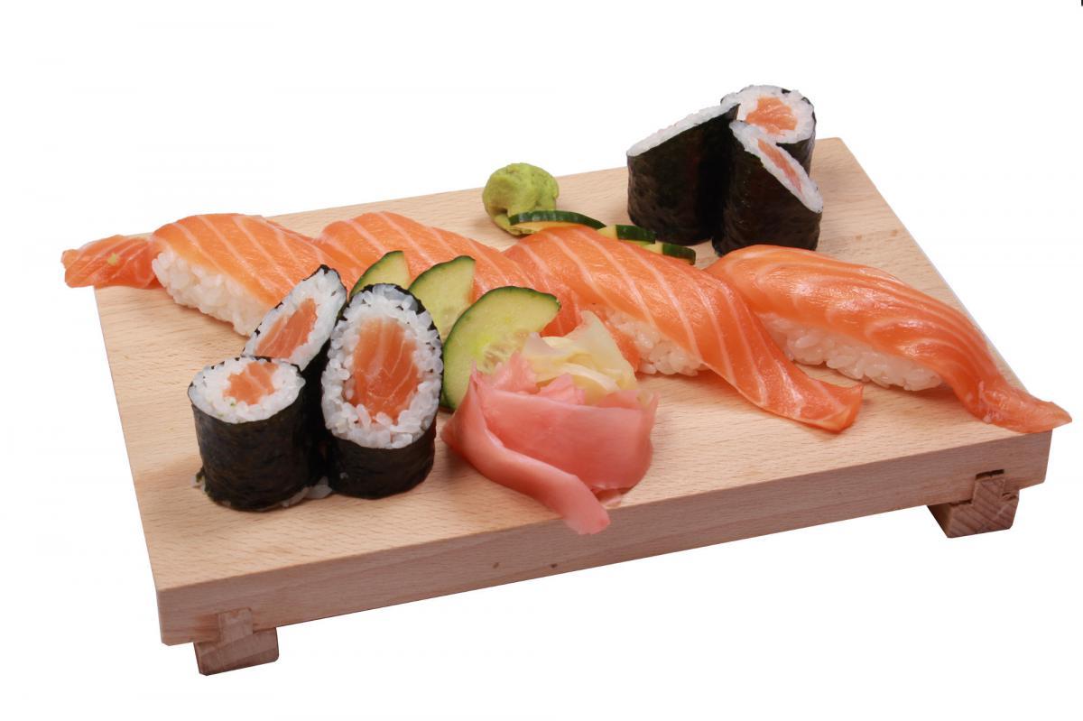 sake salmon set
