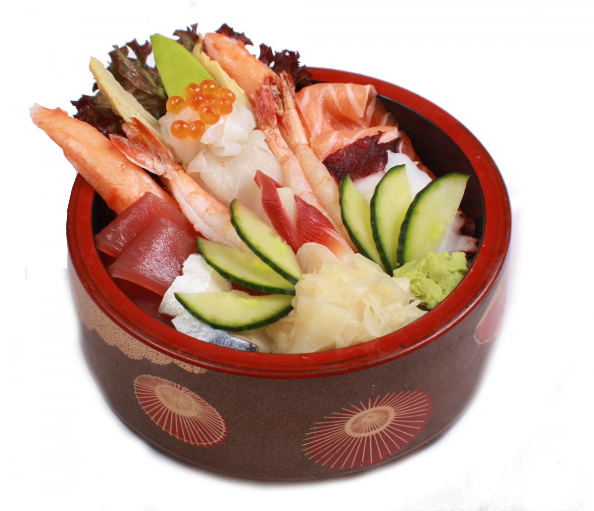 chirashi sushi don
