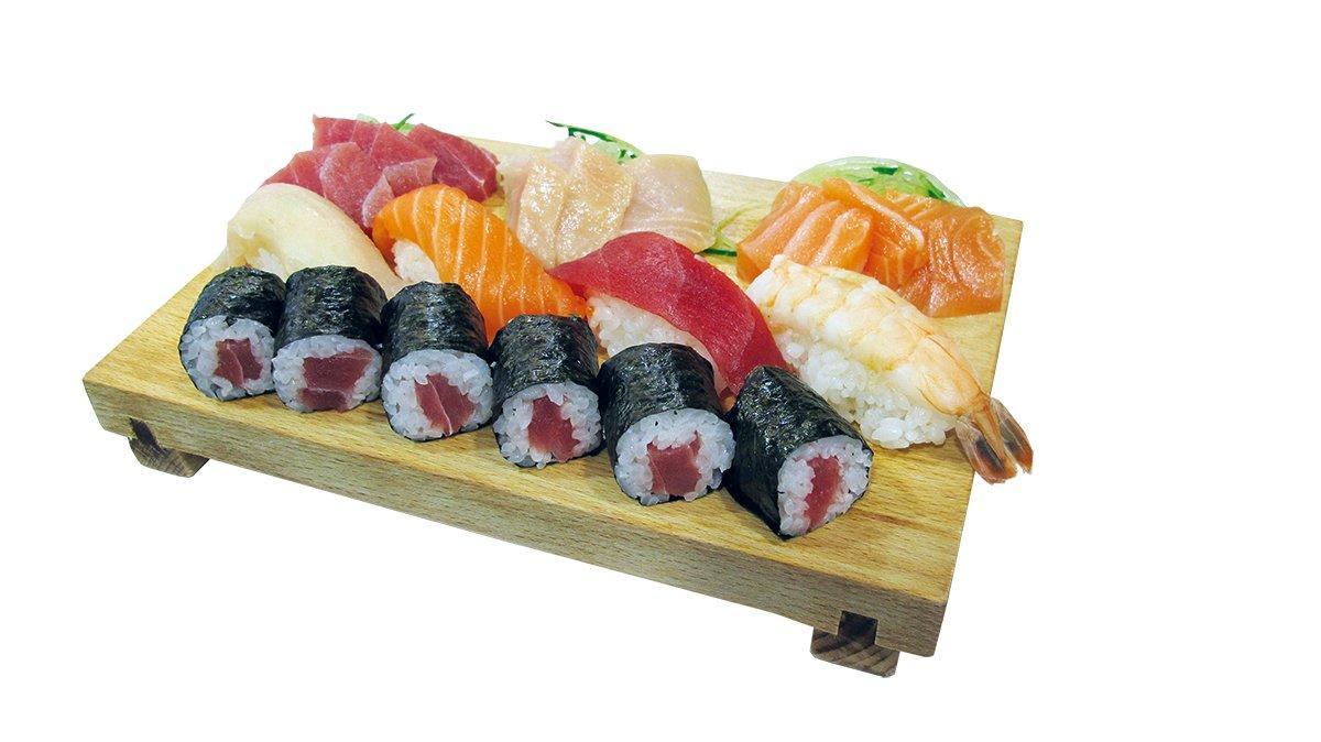 Sushi és sashimi set